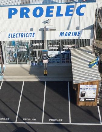 Le magasin Proelec est le spécialiste de l'électricité marine à port Camargue