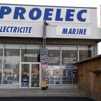 Magasin Proelec, spécialiste de l'électricité marine à port Camargue